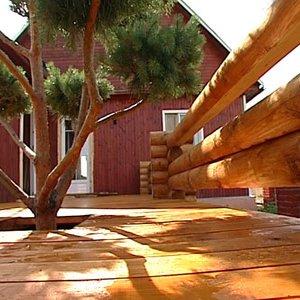 Защита деревянного пола и террас