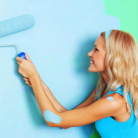 Как выбрать интерьерную краску для стен — полезная информация для покупателя