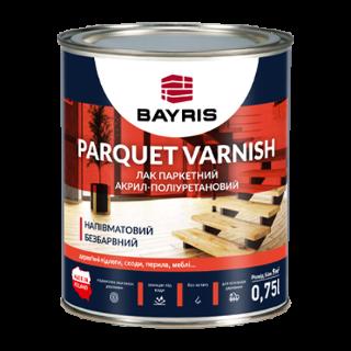 """Лак паркетний """"PARQUET VARNISH"""". Напівматовий Bayris"""