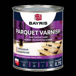 """Паркетний лак  """"PARQUET VARNISH"""". Глянцевий Bayris"""
