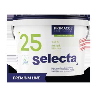 Selecta 25 Premium. Латексная краска (Глянцевая, База А) Primacol Professional