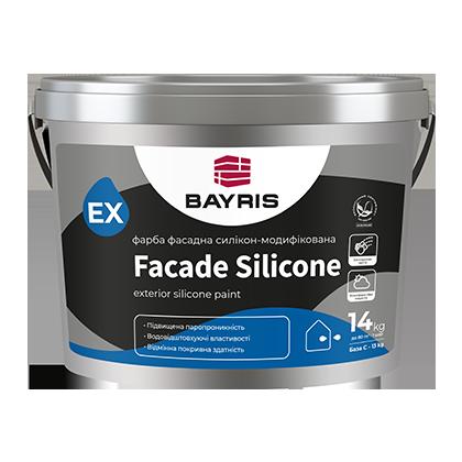 Фасадная краска Facade Silicone (Силиконовая - База C)