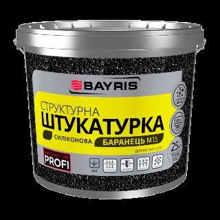 Структурная штукатурка Баранец М1.5 (Силиконовая) Bayris