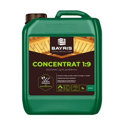 Биозащита для древесины Концентрат 1:9 (Зеленая)