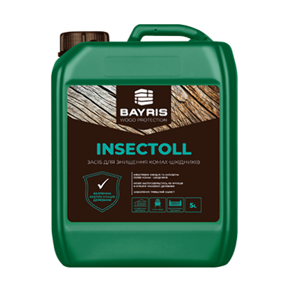 INSECTOLL. Средство для уничтожения насекомых-вредителей