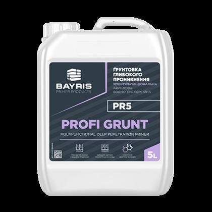 """""""Profi Grunt PR5""""- Мультифункциональная грунтовка глубокого проникновения"""