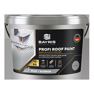 Краска для крыши Profi Roof Paint (Профессиональная) Bayris