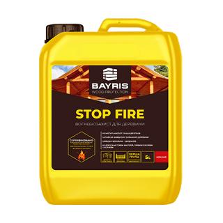 Огнебиозащита Stop Fire (Красная) Bayris