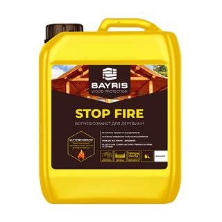 Огнебиозащита Stop Fire (Бесцветная) Bayris