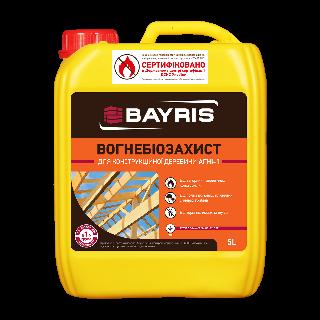 ВОГНЕБІОЗАХИСТ для конструкційної деревини (АГНІ-1) Bayris