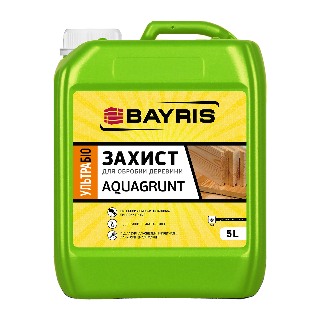 Ультрабиозащита для древесины AQUAGRUNT Bayris