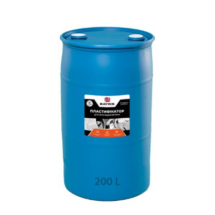 Бочка - Пластификатор Для всех видов бетона - 200 л