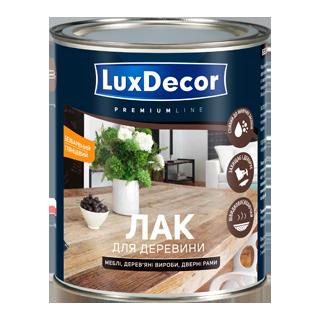 Меблевий лак для деревини. Глянцевий LuxDecor