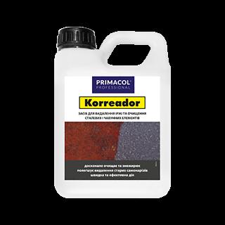 «Korreador». Засіб для видалення іржі Primacol Professional