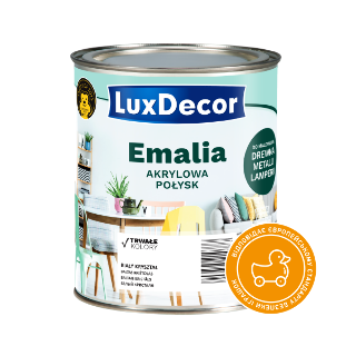 Емаль акрилова глянцева LuxDecor