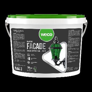 """Фасадна фарба """"FACADE"""" (Силікон-модифікована) Weco"""