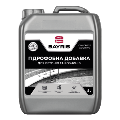 Гідрофобна добавка Для бетонів та розчинів