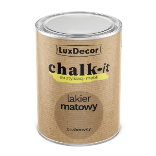 Лак матовий безбарвний CHALK-IT LuxDecor