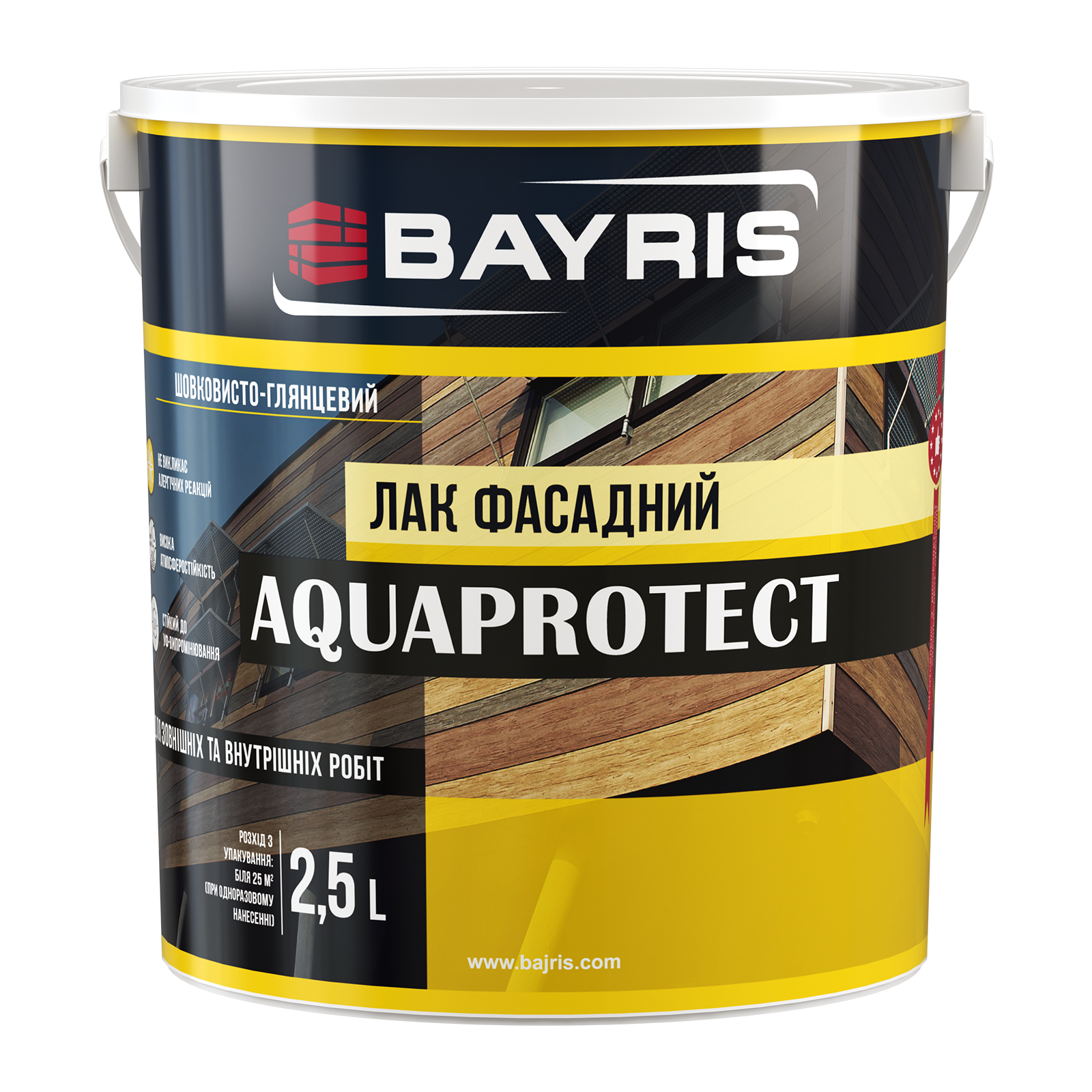 "Лак фасадний ""AQUAPROTECT"""