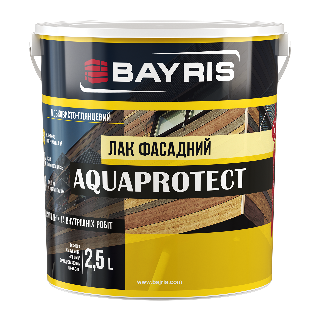 """AQUAPROTECT"" лак фасадный"