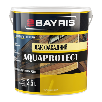 """AQUAPROTECT"" лак фасадний"