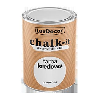 Крейдова фарба CHALK-IT (База – Pure White) LuxDecor