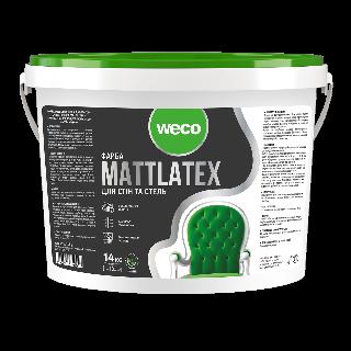 """Інтер'єрна фарба """"MATTLATEX"""" Weco"""