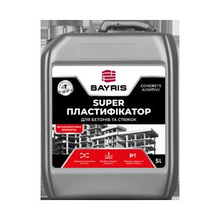 «Супер Пластификатор». Для бетонов и стяжек Bayris