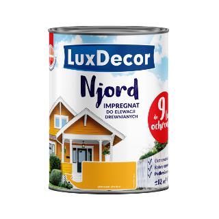 Njord імпрегнат для дерев'яних фасадів LuxDecor