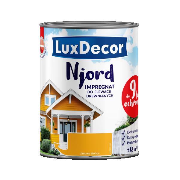 Njord импрегнат для деревянных фасадов