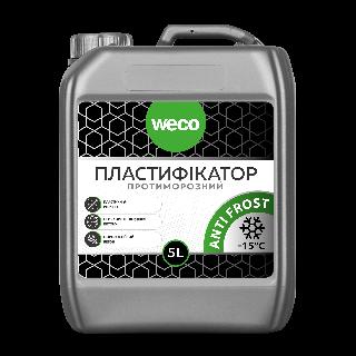 Пластификатор «ANTI FROST. Противоморозный» Weco