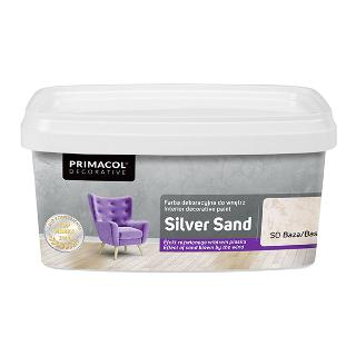 Silver Sand. Декоративная краска (Структурная) Primacol Decorative