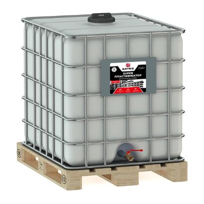 Куб - Супер Пластификатор. Для бетонов и стяжек  - 1000 л